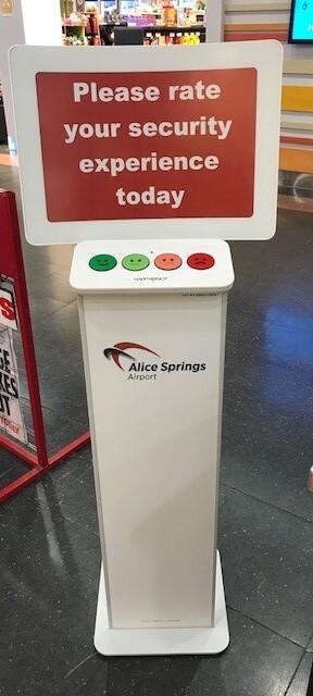 Airports - Weekday passenger satisfaction