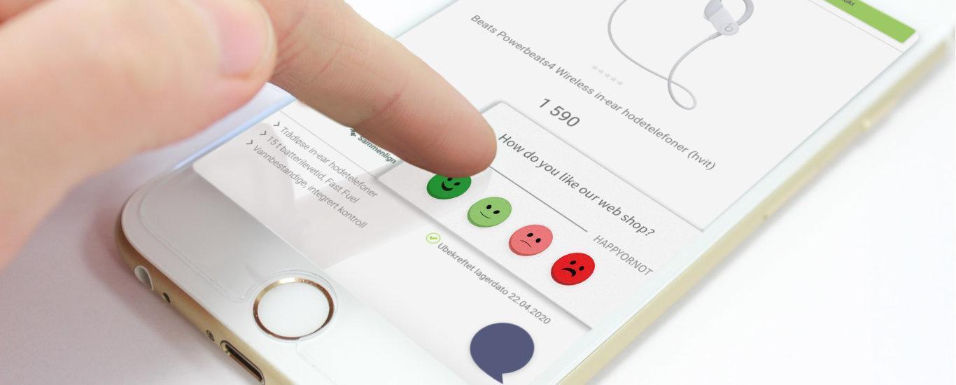 Elkjop improving their customer experience with HappyOrNot