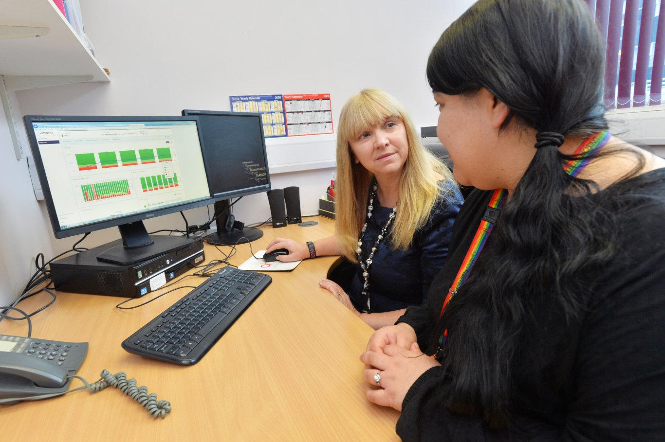 Collecting large volumes of real-time patient and staff feedback